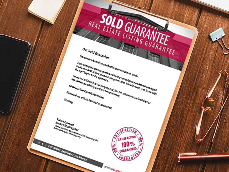 Sold Real Estate Guarantee